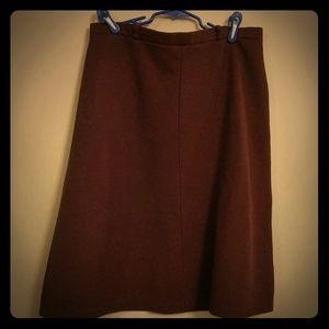 Double knit 60s/70s authentic vintage skirt